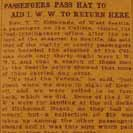 069. Passengers Pass Hat to Aid I.W.W. to Return Here