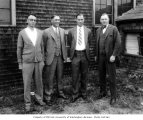 George Y. Pocock,  Alvin M. Uhlrickson, Elmer Winfield Leader, and Russell Stanley Callow