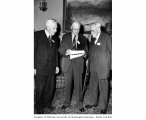 Reginald Heber Thomson, Lee Monohan, and Mr. Putnam, September 19, 1946