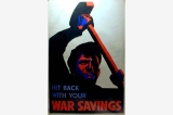 Savings Certificate poster, Great Britain, World War II