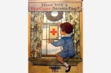 Red Cross service flag poster, United States, World War I