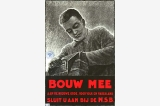 Bouw mee poster, Occupied Netherlands, World War II