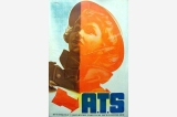 A.T.S. poster, Great Britain, World War II