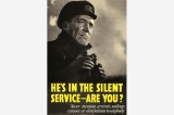 Silent service poster, Great Britain, World War II