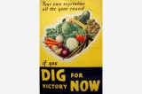 Dig for victory poster, Great Britain, World War II