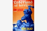 Nederland zal herrijzen poster, Occupied Netherlands, World War II