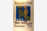 Save your child poster, United States, World War I