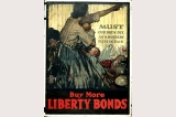 Liberty bonds poster, United States, World War I