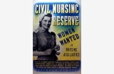 Nursing auxiliaries poster, Great Britain, World War II