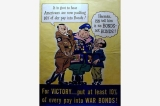 Bonds not bunds poster, United States, World War II