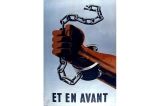 Et en avant poster, France, World War II
