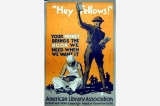 American Library Association poster, United States, World War I