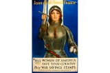 Joan of Arc poster, United States, World War I