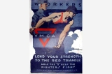 YMCA poster, United States, World War I