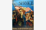 National League for Womans Service poster, United States, World War I