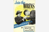 Join the WRENS poster, Great Britain, World War II