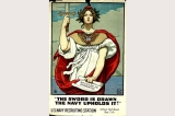 Navy recruiting poster, United States, World War I