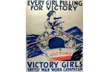 Victory girls poster, United States, World War I