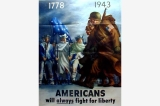 1778-1943 poster, United States, World War II