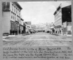 1st Ave. S., looking north from Main St., 1881