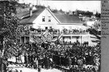 Memorial services for President James A. Garfield,  1881