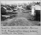 Occidental Ave. and Washington St., ca. 1875