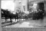Seattle Fire Department, 2nd Ave. between Cherry St. and Columbia St., ca. 1885