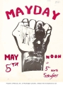 May Day noon [rally] at 5th and Stewart