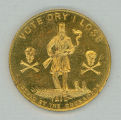Anti-Temperance Crusaders medal (reverse)
