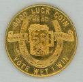 Anti-Temperance Crusaders medal (obverse)