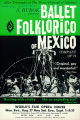 Ballet Folklorico of Mexico at the World's Fair Opera House, August 27-September 1, 1962 (front...