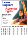 Learn English, Aprenda inglés! Peninsula College, 71 South Forks Ave., Forks, ca. 2005