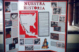 'Nuestra Historia,' a senior project by Cecilia, probably on the Olympic Peninsula, probably 1997