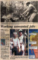 'Working unwanted jobs;' article in Peninsula Daily News from November 16, 1993