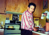 Don Jose in his kitchen in Forks, ca. 1995