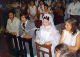 Cipriano and Delia Rodriguez wedding in Michaoacán, 1972
