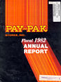 Annual report / Pay'n Pak 1982