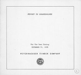 Annual report / Weyerhaeuser Timber Company 1936