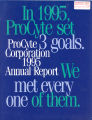 Annual report / Procyte. 1995