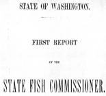 First Report of the State Fish Commissioner