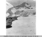 Glacier scenery, Mount Rainier, July 24, 1910