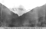 View west from the Canyon City area, Chilkoot Trail, August 31, 1897