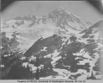 South Peak from Indian Henry's Hunting Ground, southwest slope of Mount Rainier, July 1897