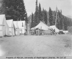Campsite at Reese's Camp, Paradise Park, ca. 1901