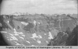 Foot of Kautz Glacier looking across Kautz Canyon, July 1897