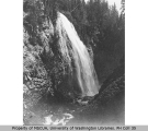 Narada Falls in the Paradise River, south slope of Mount Rainier, ca. 1908