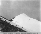 Liberty Cap, northernmost of the three peaks at the summit of Mount Rainier, ca. 1897
