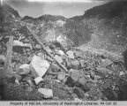 Foot of glacier, Mount Rainier, 1909