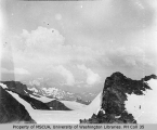 View from 10500 ft. level of Mount Rainier, ca. 1897