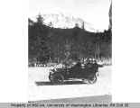 Sarvant automobile trip to Mount Rainier, July 7, 1910